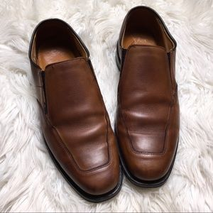 Allen Edmond Men Brown Size 9 D Milford Casual